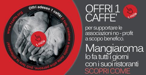 1Caffè collabora con Mangiaroma